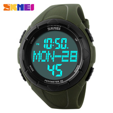 2016 SKMEI Men Sports Watches Heart Rate Monitor Fitness Tracker Healthy Fit Pedometer Relogio Masculino Women Digital Watch pedometer heart rate monitor calories counter led digital sports watch skmei fitness for men women outdoor military wristwatches