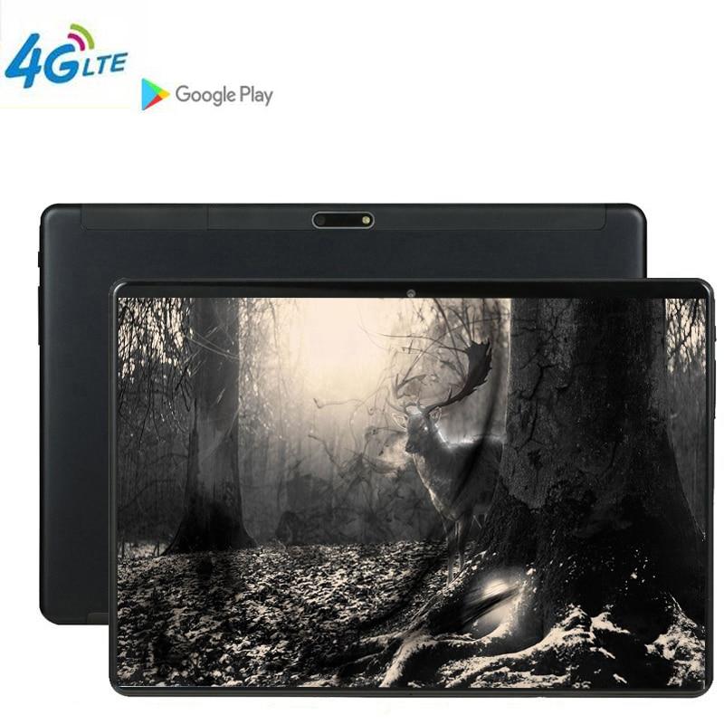 Jogo Tablet phablet MTK6797 10 polegada tablet PC 3G 4G LTE Android 9 6 10 comprimidos de Núcleo de metal GB de RAM Grande 128 GB ROM WiFi GPS stylus