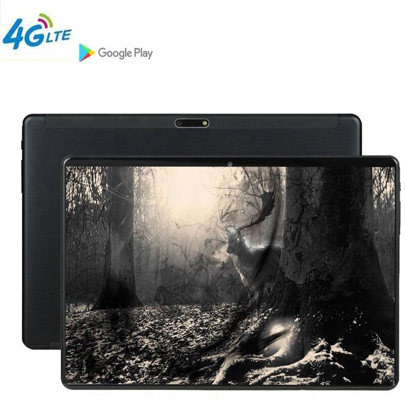Jogo da tabuleta phablet mtk6797 10 polegada tablet pc 3g 4g lte android 9 10 núcleo de metal comprimidos 6 gb ram grande 128 gb rom wifi gps stylus