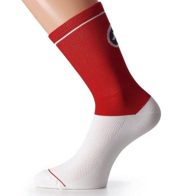 Bmambas meias esportivas de alta qualidade, meias respiráveis de marca para homens, bicicleta de estrada, mountain bike, ciclismo de corrida 4