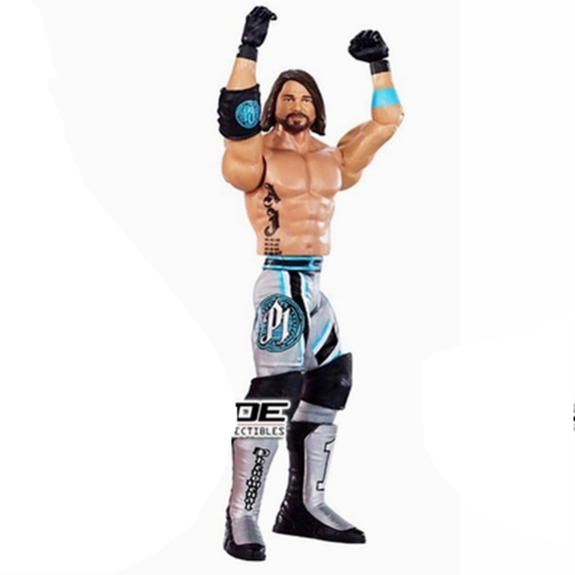 7″ Wrestler Wrestling AJ Styles Action Figure Toy Doll Brinquedos Figurals Collection Model Gift