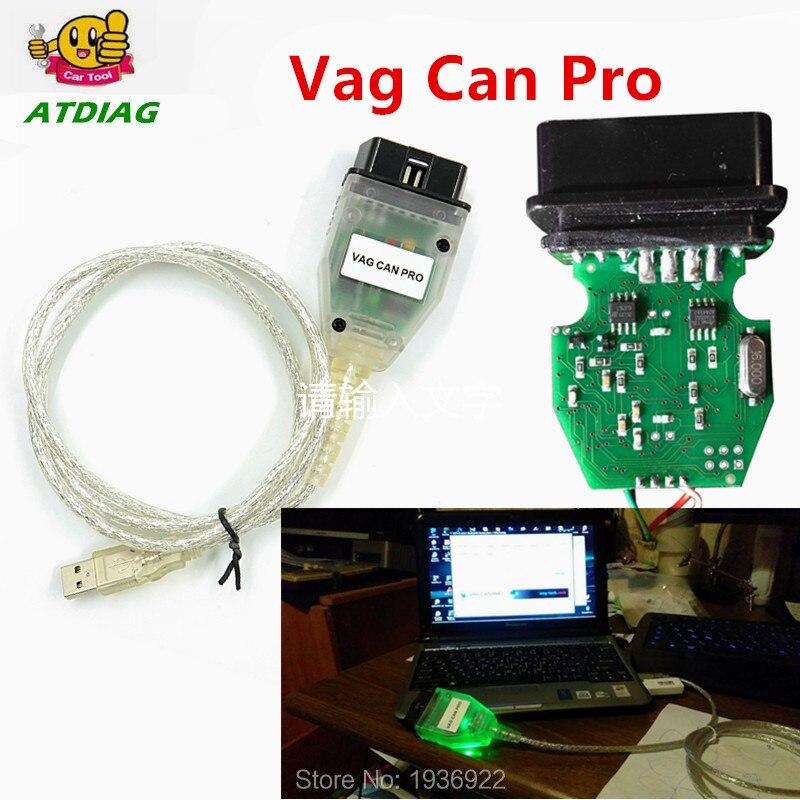 НОВОЕ ПОСТУПЛЕНИЕ VAG CAN PRO CAN BUS + UDS + K-line S.W версия 5.5.1 VCP сканер S.W версия 5.5.1 Vag pro can ODIS Бесплатная доставка