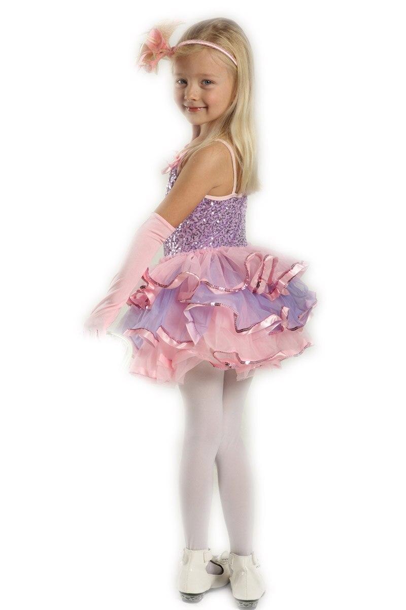 d91dcca51c70 Girls Dance Dresses Child Leotard Clothes Latin Costumes for Kids ...