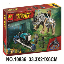 Bela 10836 Super Heroes Movie Rhino Face-off By The Mine Black Panther Building Bricks Blocks Toy Compatible With Legoings
