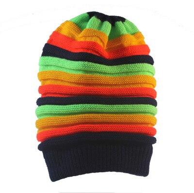 Unisex Rastafarian Beanie Hats Caps & Beannies