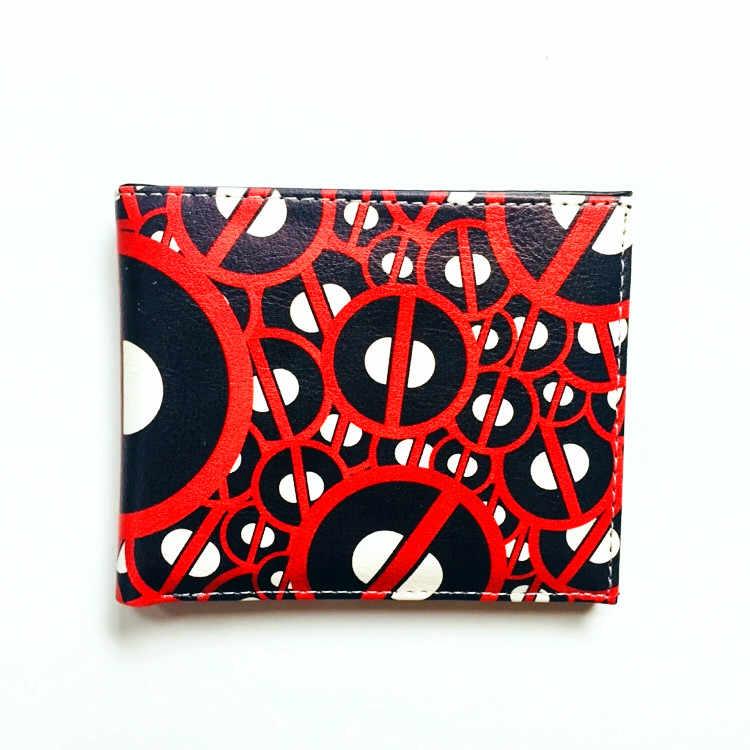 Комиксы Марвел Дэдпул кошелек Кожаные Кошельки супер герой мертвый бассейн аниме держатель карт сумки сложенный короткий кошелек W983Q