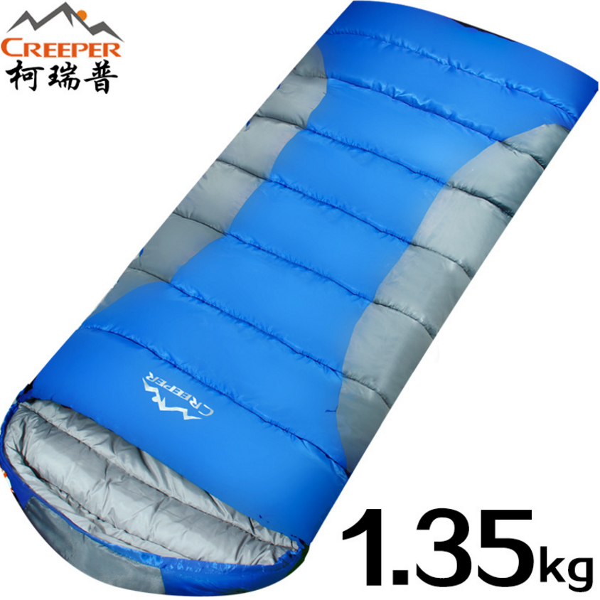 CREEPER Outdoor Sleeping Bag Adult Ultra-light Thick Autumn Winter Envelopes Sleeping Bags Camping Lunch Break Cotton Lazy Bags electric lunch box double layer stainless steel liner cooking lunch boxes multifunction plug in lunch box steamed rice steamer