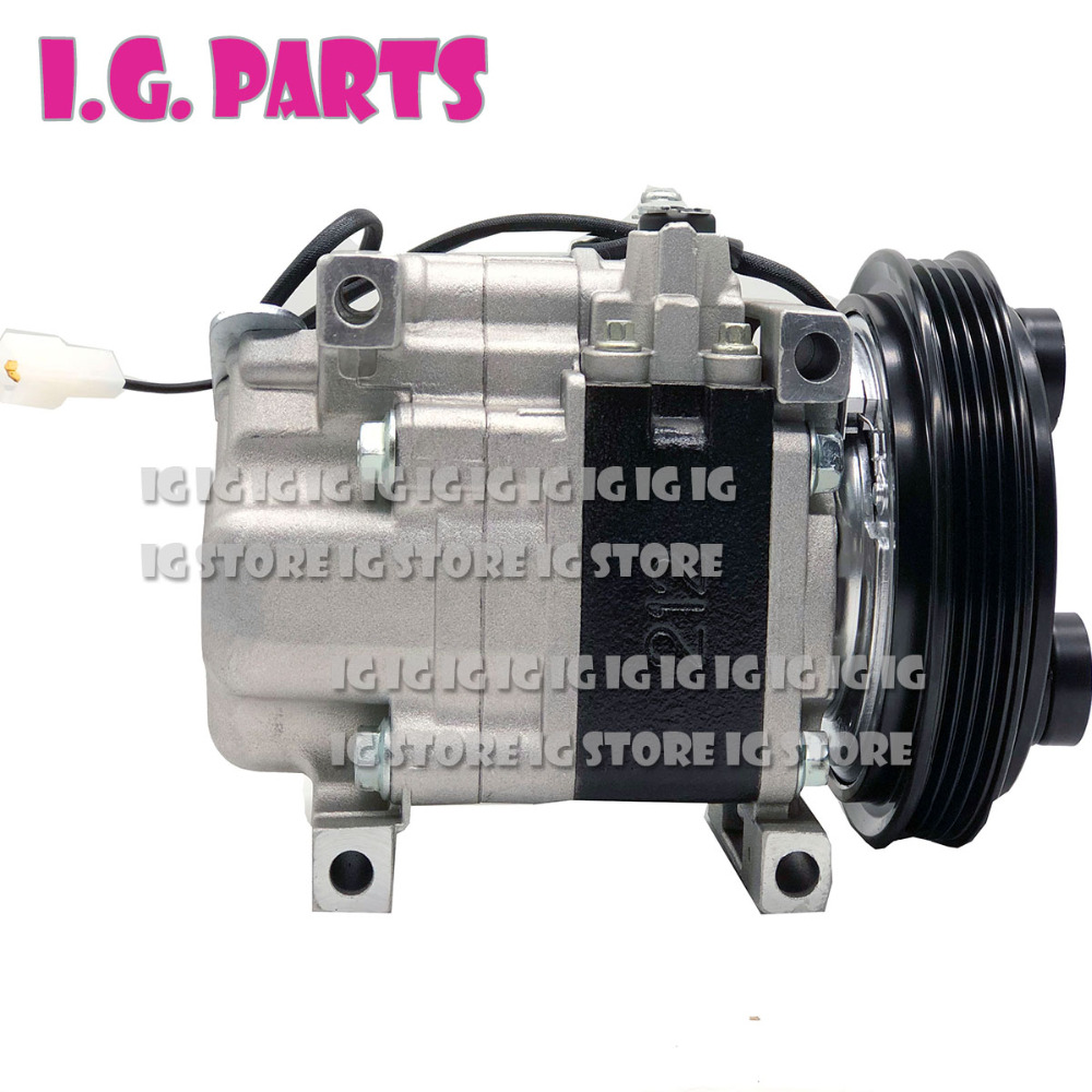 New AC Air Conditioning Compressor Cooling Pump For Car Mazda Demio DW 1 3 B3 B5 D20161450C D20161450D H12A0AM4NU H09A0AA4HU in Air conditioning Installation from Automobiles Motorcycles