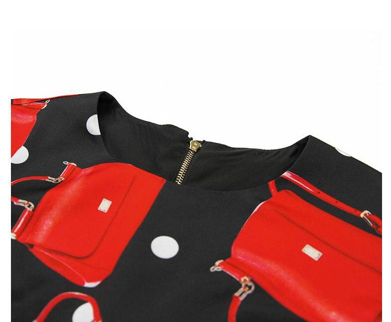 Manches longueur Robe Automne 2018 Impression Rouge Longues À Femmes Nouvelle Crayon Genou Ziwwshaoyu Designer Et D'hiver Supérieure Piste Qualité gyvb76Yf
