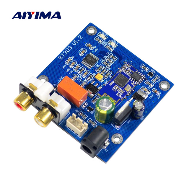 AIYIMA Bluetooth 5.0 Module DC7-12V Wireless Audio Receiver DIY For Bluetooth Power Amplifiers Speakers Amplificador Audio Board