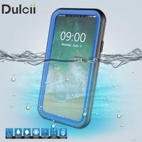 Dulcii Cover For IPhone X Ten Telefon Bag IP68 3 M 24H Underwater Waterproof Case For