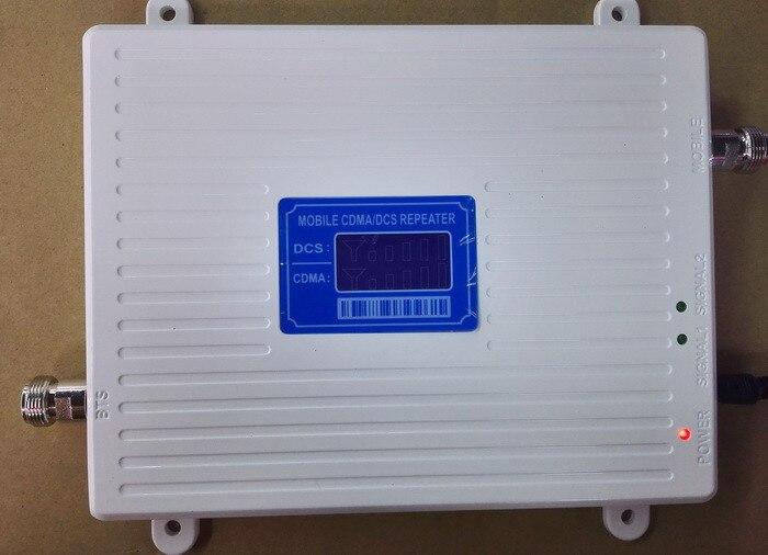 Affichage À CRISTAUX LIQUIDES GSM 850 mhz DCS 1800 Mhz Répéteur Double Bande Cellulaire Amplificateur de Signal De Téléphone Portable Répéteur CDMA 4G LTE amplificateur