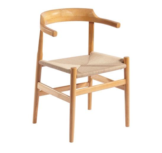 Cadeira De Jantar Mobília Da Sala De Jantar Moderna Minimalista Réplica  Hans Wegner PP68 Lado Cadeiras