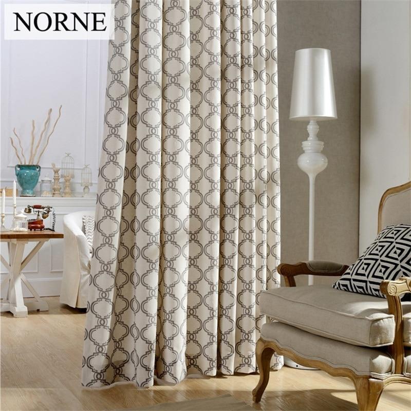 NORNE Impreso Oscurecimiento Pesado Sala de Oscurecimiento de la - Textiles para el hogar