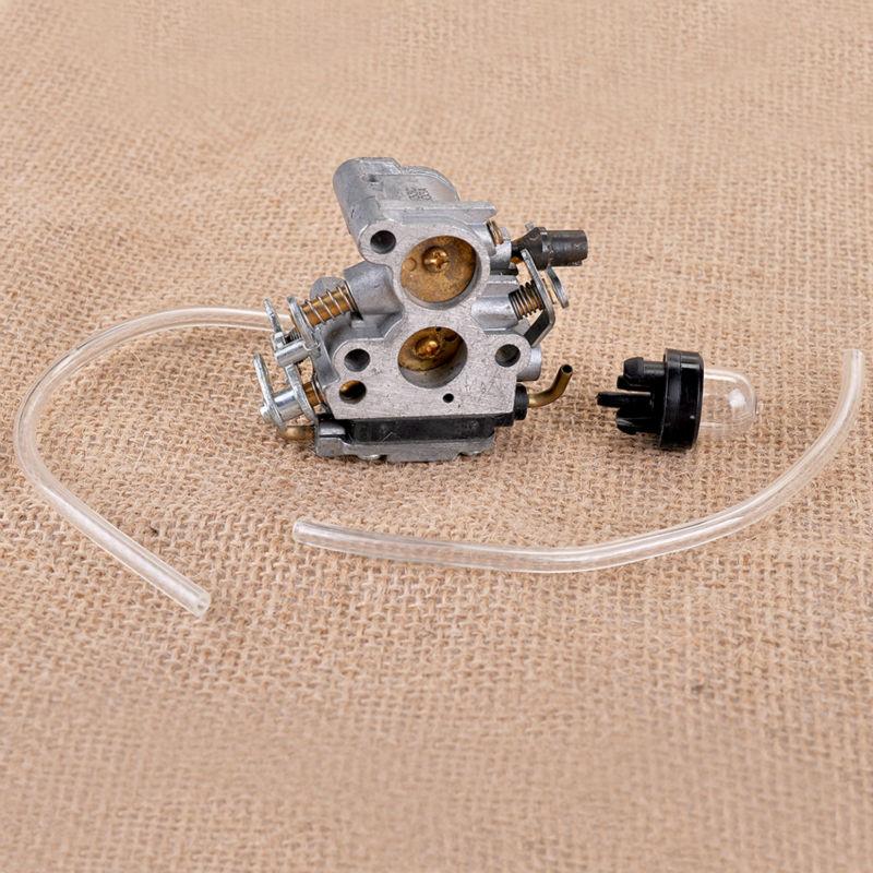 Carburetor & Primer Bulb for Husqvarna 235 235E 236 236E 240 240E CARBURADOR SAW CHAINSAW #545072601 original 26mm mikuni carburetor for cbt125 cb125t cbt250 ca250 carburador de moto