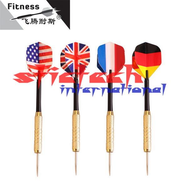 by dhl or ems 500pcs Free shipping copper dart needle darts 20 kinds of American flag pattern selection