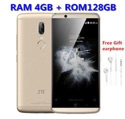 Global Version ZTE AXON 7S 20.0MP Mobile phone Snapdragon 821 Quad-core 4GB RAM 128GB 5.5