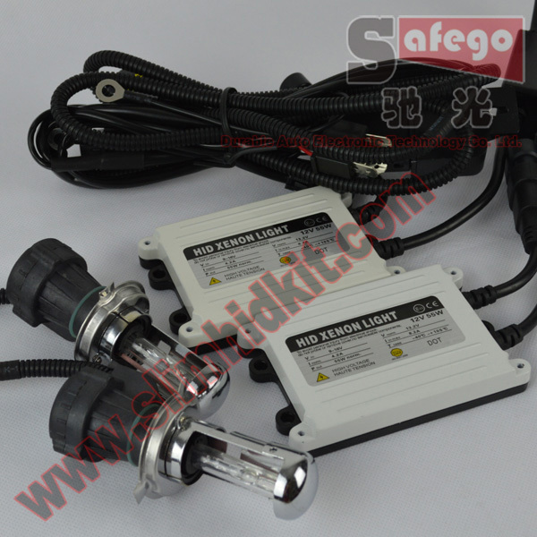 1 set  Newest products hid kit bi xenon h4 55w 4300k,6000K,8000K,10000K,12000k bixenon h4 kit xenon 5000k H13 ,9004.9007 купить