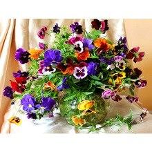 Colorful flowers diamond painting