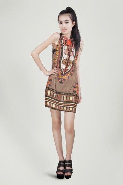 2013 summer women new exclusive debut Seoul Korea Han ethnic style print dress ladies dress