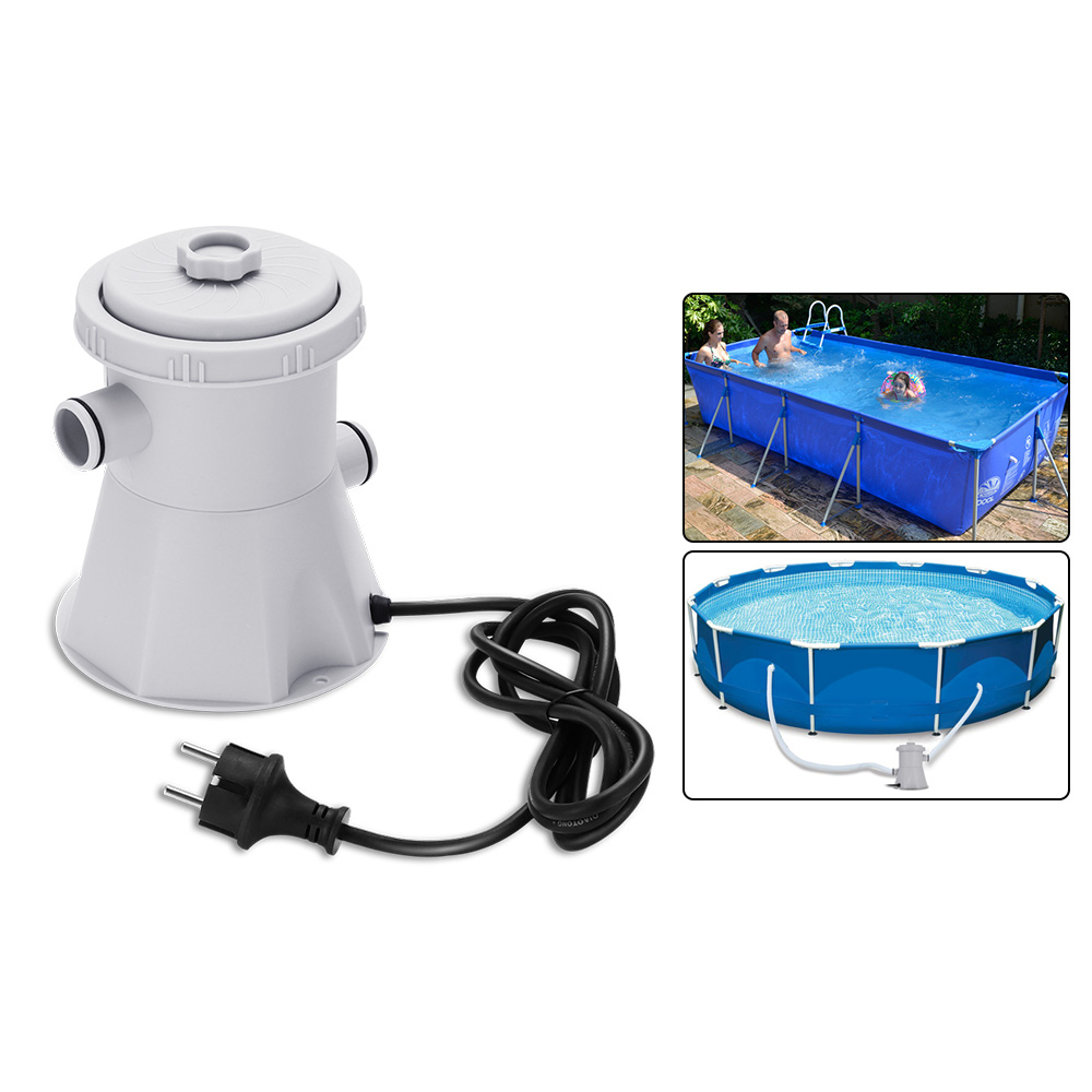 Swimming Pool Filter Pump Durable Reusable Practicle Pool Filter Pump Water Cleaner Easy To Install Electric Filter Pump