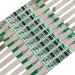 Image 3 - 10pcs 3.7V 3A Li ion Lithium Battery 18650 Charger Over Charge Protection Board With Solder Belt #246061