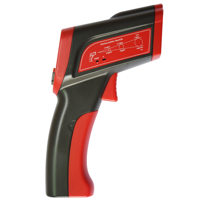 UYIGAO UA1350 Authorized Non-contact Digital Laser Infrared Temperature Gun Thermometer -50C - 1350C uyigao ua1750 authorized non contact digital laser infrared temperature gun thermometer