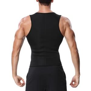 Image 3 - Miss Moly Mannen Body Shaper Neopreen Shapers Bevorderen Zweet Taille Trainer Tummy Afslanken Shapewear Mannelijke Modellering Riem afvallen