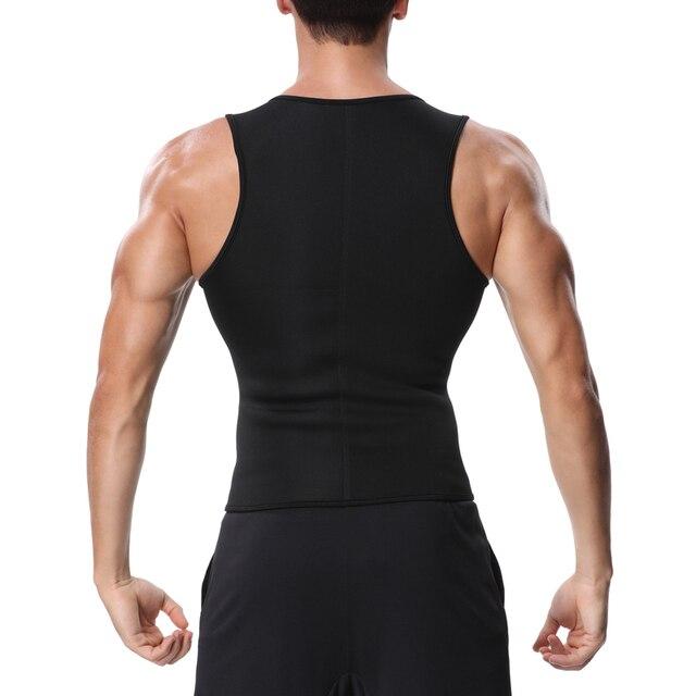 Miss Moly Men Body Shaper Neoprene Shapers Promote Sweat Waist Trainer Tummy Slimming Shapewear Male Modeling Belt Losing weight 2