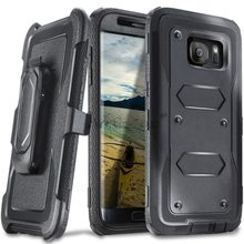 Heavy Duty Layer Rugged Armor Phone Case for Samsung Galaxy S7 S6 S6 Edge S7 Edge / S6 Edge Plus / Note 5 J3 J7 with belt clip