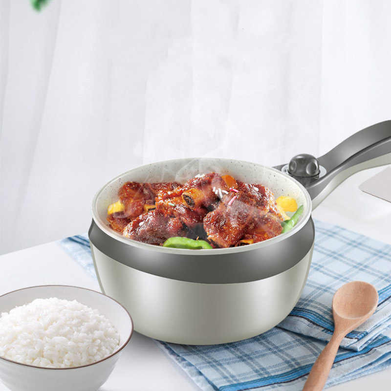 220v 1l Household Electric Multi Cooker Pot With Steamer