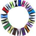 Free shipping!! 24PCS/LOT 21colors 2.5'' pantyhose nylon headband can mix order