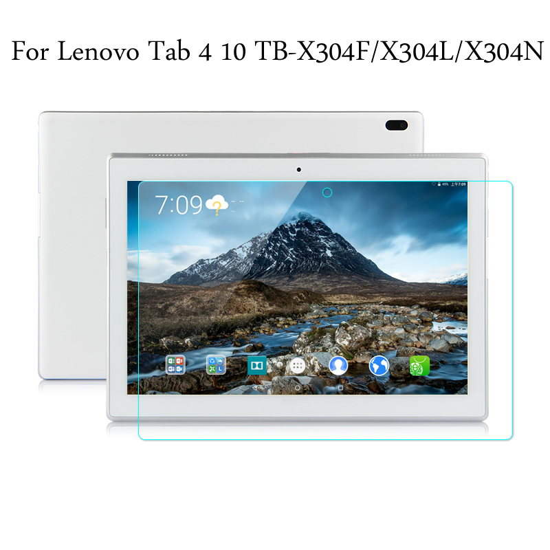 Tempered Glass Membrane For Lenovo Tab 4 10 TB-X304F TB-X304L TB-X304N 10.1'' Steel Film Tablet Screen Protection Toughened