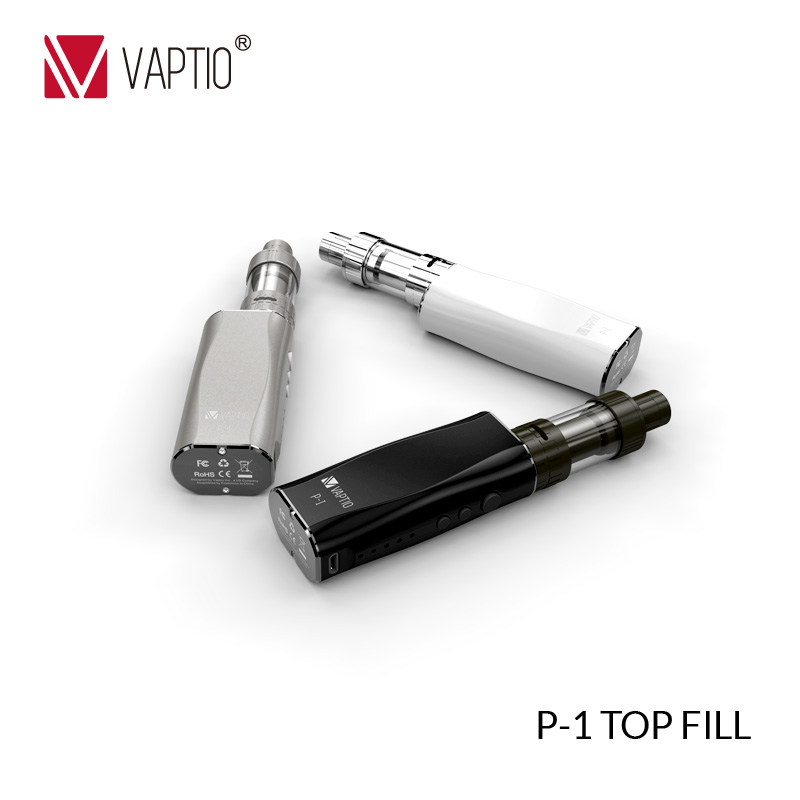 Vaptio P1 Toptank electronic cigarette mod 50w kit font b vape b font electronic cigarette 2