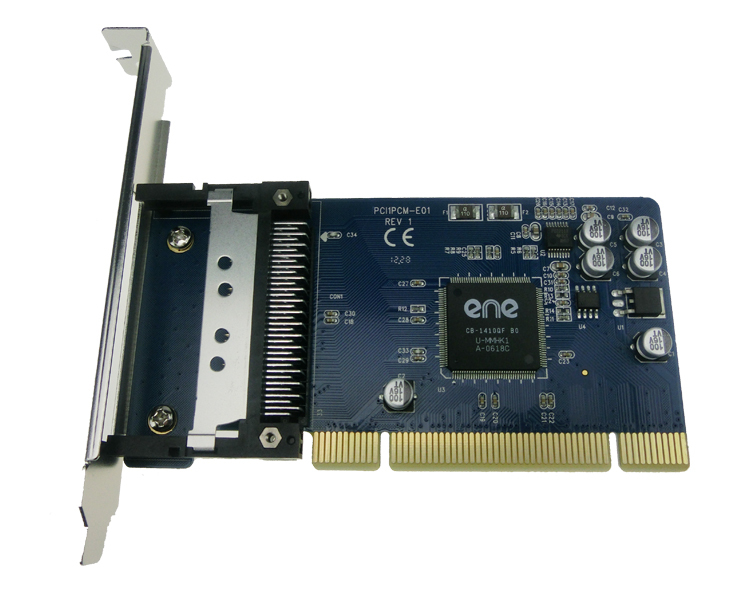 New PCI to PCMCIA 16-bit (PCMCIA 2.1 / JEIDA 4.2) and 32-bit Cardbus PCMCIA PC Card to PCI Adapter Converter support low profile цена