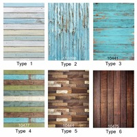 Photography Background Vintage Blue Wood Floor Trunk 5x7ft Photocall Backdrops For Photo Studio For Children Baby