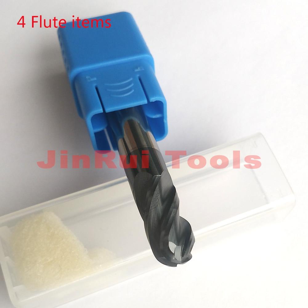 HRC45 d12*30*D12*75L Four Flutes Micro Solid Carbide Face End Mill CNC Milling