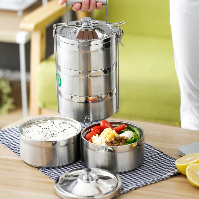 Stainless Steel Thermos Food Container