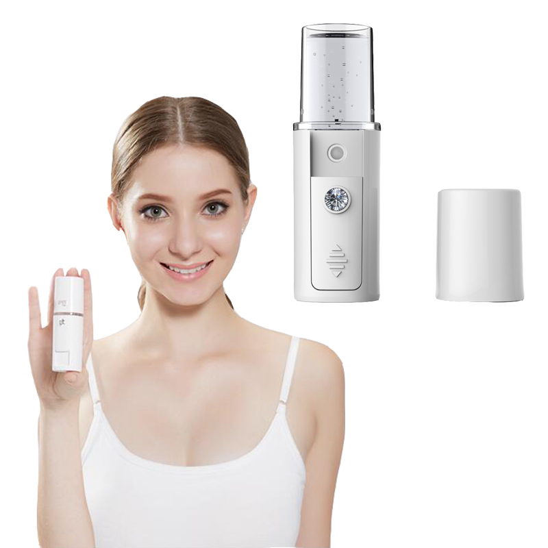 portable nano-ion Nano Anion Skin Nebulizer moisturizing facial beauty instrument artifact face care cold machine spray massage