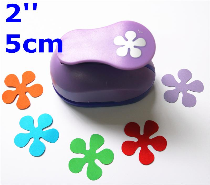 250mm flower paper punches for crafts and scrapbooking furador 2 5cm paper punch puncher flower paper punches for scrapbooking furador de diy craft mightylinksfo