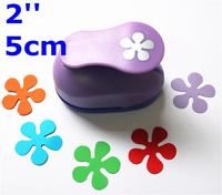 2 5cm Paper Punch Puncher Flower Paper Punches For Scrapbooking Furador De DIY Craft Punch Creative