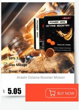 Pacote 6 Arashi Gás Remover Depósitos De