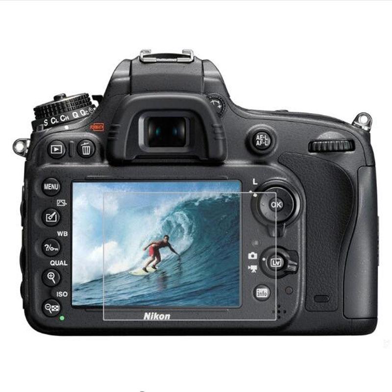 Tempered Glass Protector For Nikon D4S D5 D500 D600 D610 D7100 D7200 D750 D800 D800E D810 D850 Camera LCD Screen Protective Film