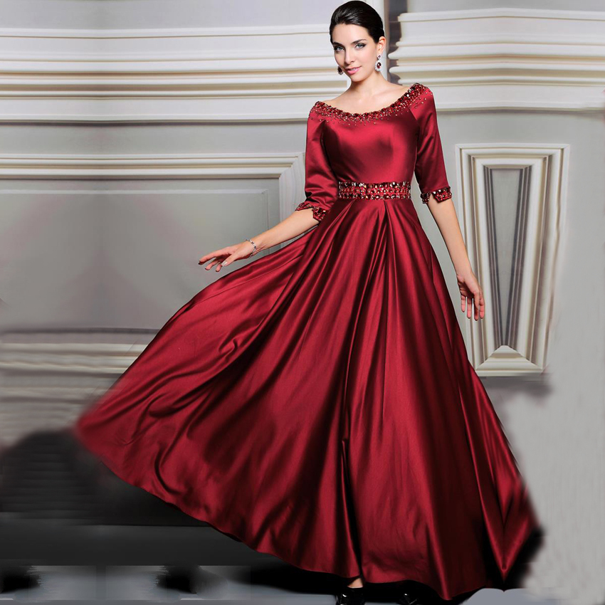 Online Get Cheap Burgundy Formal Dresses -Aliexpress.com | Alibaba ...