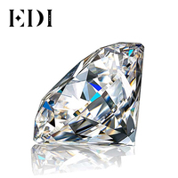 EDI 0.1ct Loose Diamond GDTC Certificate G/VS Round Brilliant