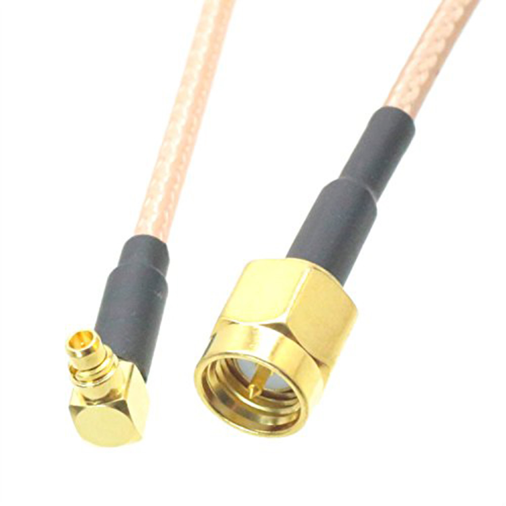ALLISHOP 5m WiFi Antenna EXTENSION Cable/Lead Wireless SMA Male to MMCX Male Right Angle RG316 cable