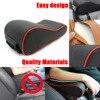 Dongzhen Car Universal Armrest Box Mats Car Interior Armrest Pad Set PU Leather Styling Armrest Box