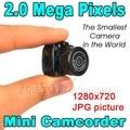 Micro Наименьший Портативный камеры HD CMOS 2.0 Мегапикселей Карманный Аудио-видео Камеры Mini DV DVR Рекордер Видеокамеры 480 P 720 P JPG
