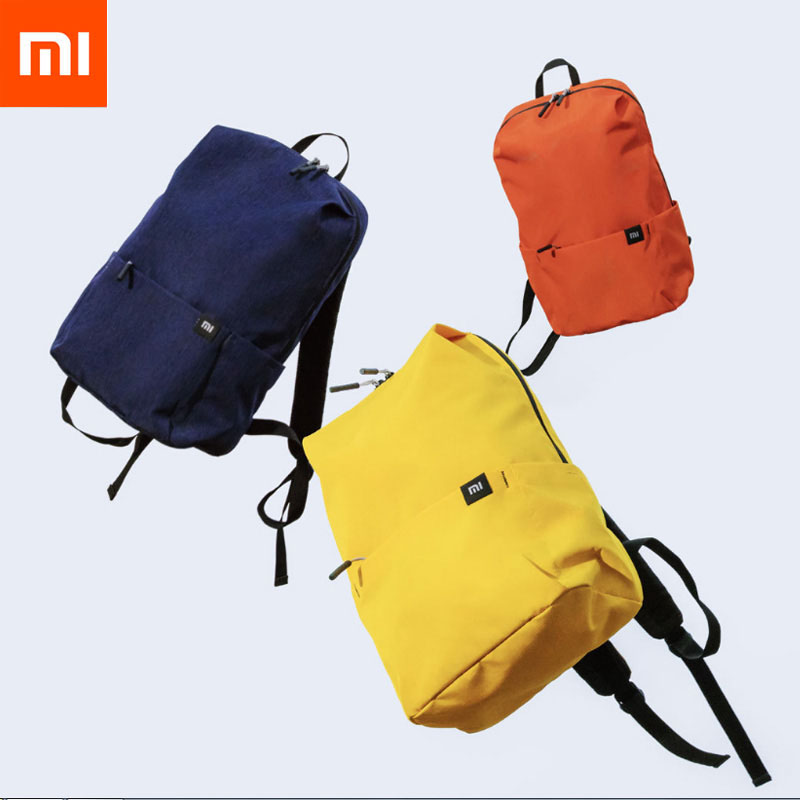 Xiaomi Mi Backpack 10L Bag 8 Colors 165g Urban Leisure Sports Chest Pack Bags Men Women Small Size Shoulder Unise bolsa