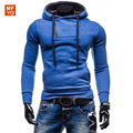 New Brand Mens Hoodies And Sweatshirts Sportwear Zipper Design Pullover Male Sweatshirt Jacket Poleron Hombre Asian Size XXL